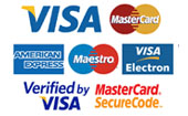 accepted credit cards in our online store